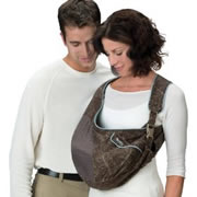 "Boppy ""Carry in comfort"" (c-shaped pouch, poor visibility)"