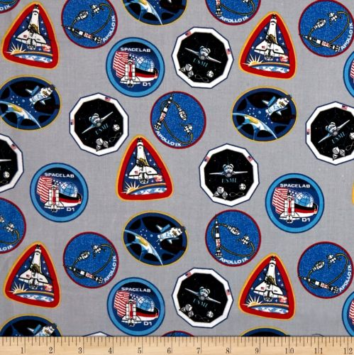Fabric Face Mask: NASA Mission Patches