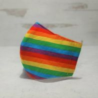 Fabric Face Mask: Rainbow pride