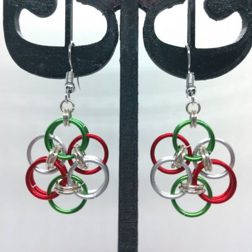 Earrings: Winter holidays